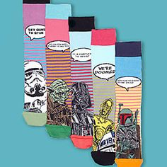 Novelty Star Wars socks