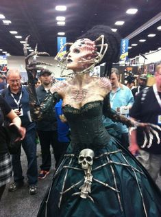 COSPLAY THAT REALLY IMPRESSED US FROM COMIC-CON 2013: Original Design From Riddle on Twitter.