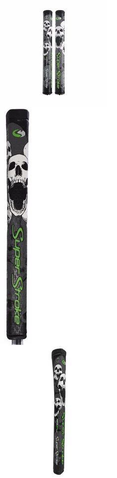 Golf Club Grips 47324: Superstroke Golf Countercore Gt Pistol 2.0 Gray Skull Edition Grip +50G Weight -> BUY IT NOW ONLY: $34.95 on eBay!