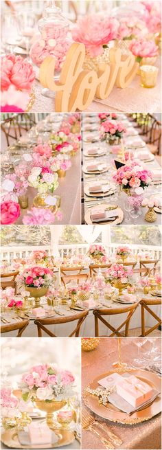 Featured Photographer:Studio Impressions Photography; Pink wedding reception details
