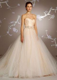 i loove this lazaro dress---esp the color!