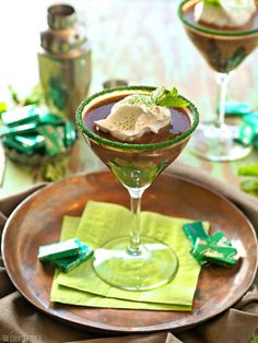 Andes Mint Martini