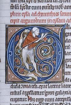 Bible, MS M.111 fol. 175r - Images from Medieval and Renaissance Manuscripts - The Morgan Library & Museum