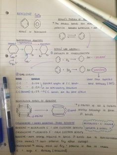 Game of Studies — Chemistry notes – Benzene - Bildung A Level Chemistry Notes, Chemistry Help, Study Chemistry, Chemistry Classroom, Chemistry Lessons, Teaching Chemistry, Science Chemistry, Forensic Science, Life Science