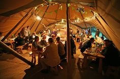 World Inspired Tents are opening their tipis to all couples on the ...