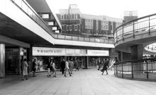 Photo of Croydon, The New (Whitgift) Shopping Centre Vintage London, Old London, Old Photos, Vintage Photos, Shopping Malls, Croydon, South London, London Photos, Local History