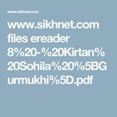www.sikhnet.com files ereader 8%20-%20Kirtan%20Sohila%20%5BGurmukhi%5D.pdf