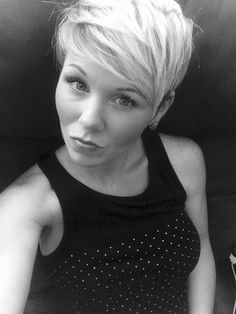 Undercut pixie with sides shaved