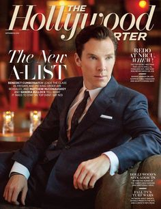 Benedict Cumberbatch featured on the front cover of the upcoming September 20 edition of The Hollywood Reporter.