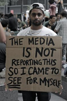 Question everything you see on the news but even more importantly, question what…