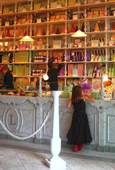 a view of a Ladurée Shop in Saint-Tropez