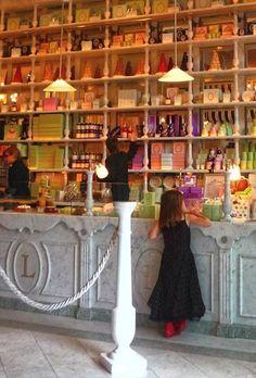 Inside Laudree in Paris. Macaron heaven ❤