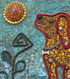 """Durango"" Mixed Media Mosaic | Flickr - Photo Sharing!"
