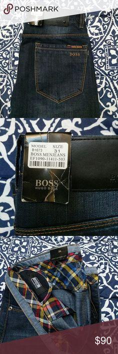 Jeans Hugo Boss dark jeans Hugo Boss Jeans Straight