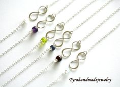10 OFFSet of 6Infinity and customize by tyrahandmadejewelry2