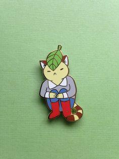 Lonely Cat Enamel Pin