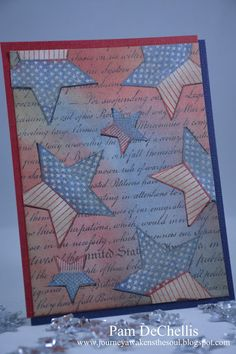 4th Of July Fireworks, Fourth Of July, Color Of The Day, Distress Ink, Tim Holtz, Red And White, Sunday, Paper Crafts, Love