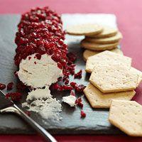 Cranberry Goat Cheese Log Recipe