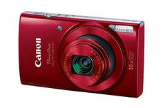 Canon PowerShot ELPH 190 IS Digital Camera (Red) with Optical Zoom and Built-In Wi-Fi with SDHC Flexible tripod AC/DC Turbo Travel Charger Replacement battery Protective camera case Camera Frame, Camera Shy, Camera Lens, Dslr Photography Tips, Underwater Photography, Liverpool, Canon Powershot Elph, Off Camera Flash, Optical Image