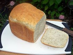 Bread Machine |herbed bread