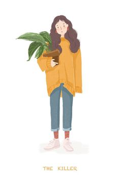 Painting people ideas Ideas painting is part of Illustration art - Art And Illustration, Illustration Mignonne, People Illustration, Illustrations And Posters, Character Illustration, Flat Design Illustration, Animal Illustrations, Portrait Illustration, Watercolor Illustration