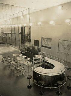 Bar und Café, Werkbundausstellung Paris 1930