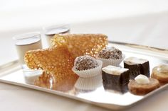 Choose your favorite Praline at the Romantik Hotel Hostellerie de Hamert!