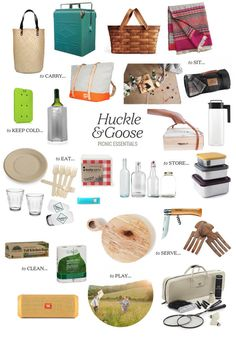 Ultimate Picnic Essentials Guide - Entertain - Huckle & Goose