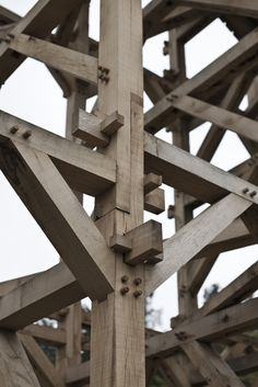 Timber Frame Joinery | TIMBER TRAILS: Enabling cabin, cottage, and tiny house builders with resources for fast, efficient, and affordable housing alternatives. Live Large -- Go Tiny! > > TimberTrails.TV