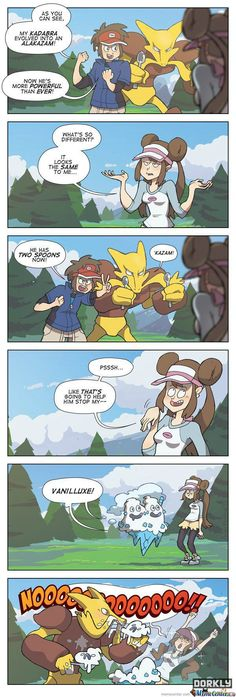 Old Pokémon vs New Pokémon.