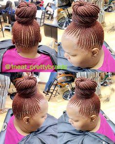 Instagram post by @neat_prettybraids New Page • Aug 27, 2020 at 11:56pm UTC Braided Ponytail, Braids, Instagram Posts, Bang Braids, Braid Hairstyles, French Braid Ponytail, Braid Out, Twists, Hair Weaves