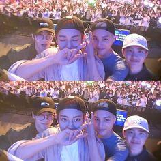 Sehun, Chanyeol, Kai, D.O