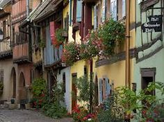 Like straight out of a fairytale... Eguisheim, Alsace