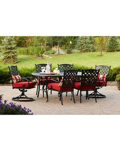 Better Homes and Gardens Fairglen 7-Piece Patio Dining Set, Seats 6 from Walmart | BHG.com Shop