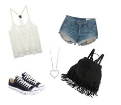 """party"" by jaidenmorroni ❤ liked on Polyvore featuring Wet Seal, rag & bone and Converse"