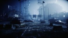Photo about Apocalypse city in fog. Aerial View of the destroyed city. Image of battle, city, disaster - 129313294 Nuclear Winter, Nuclear War, Nuclear Apocalypse, Post Apocalypse, Weapon Of Mass Destruction, End Of The World, 3d Rendering, Aerial View, Royalty Free Images