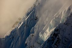 There are endless spines to be ridden in Alaska just avoid the ice. Photo: @andrew_miller #twsnow