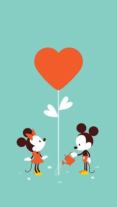 Minnie & Mickey│Mouse - - or Ashlyn Nicole Howard and James Courtney Bellah are luvs will always bloom and fill up the balloon till it pops ! Them we will fill up millions of luvs balloons I luvs my Minnie Mouse and she luvs her Mickey Mouse ! Walt Disney, Disney Magic, Disney Amor, Disney Dream, Disney Love, Disney Mickey, Disney Pixar, Downtown Disney, Disney Style