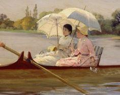 On the Thames, 1878  Giuseppe de Nittis