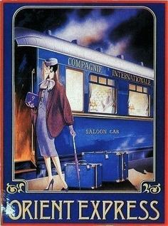 Orient Express #vintagetravelposters