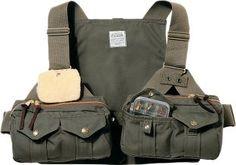Filson Shelter Cloth Fly-Fishing Strap Vest
