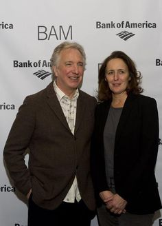 "January 13, 2011 - Actors Alan Rickman and Fiona Shaw attend the ""John Gabriel Borkman"" after party at the Brooklyn Academy of Music in New York City."