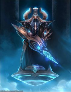 Protoss. This just gave me an interesting idea: a hero/unique/special upgrade for High Templar= they imbue all their psychic power into a focused crystal blade (solid unlike a zealots energy blades) that does UBER-DAMAGE but limited to melee