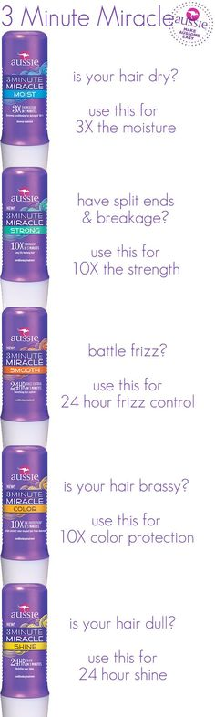 What an easy way to #DitchTheDrama caused by unruly hair! Just add 3 Minute Miracle to your hair routine mix.  #GotItFree