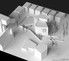 DAEGU GOSAN LIBRARY COMPETITION PROPOSAL. HONOURABLE MENTION / tapia+figueiras arquitectos