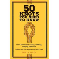 """If you're unaware of the difference between a Cow Hitch and a Marlinspike Hoop or a Running Bowline and a Square Lashing, all will be revealed in """"Knot Nerds."""" Packed with step-by-step instructions, d"""