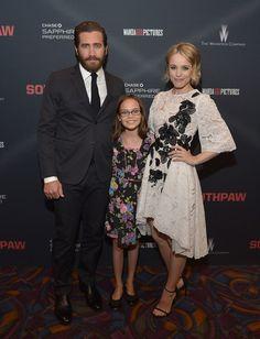 jake and rachel in southpaw | Jake Gyllenhaal Rachel McAdams Southpaw Screening 2015 002 Jake ...