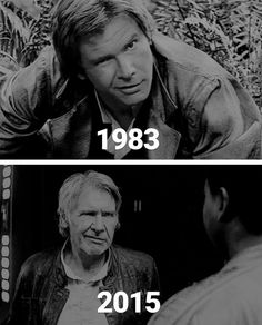 Some things never change. :) Harrison Ford's grin. Harrison Ford, Indiana Jones, Starwars, Star Wars Design, Han And Leia, The Force Is Strong, Carrie Fisher, Love Stars, Long Time Ago