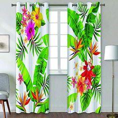 Glass Front Door, Glass Door, Hibiscus, Curtains Living, Tropical Flowers, Glass Design, Brazil, Salons, Palm