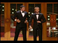 Neil Patrick Harris and Hugh Jackman duet at 2011 Tony Awards. Fangirl squee at this! I love them!